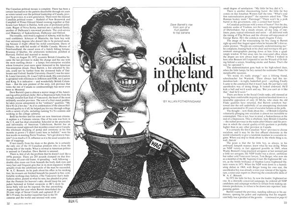 Article Preview: A socialist in the land of plenty, June 1973 | Maclean's