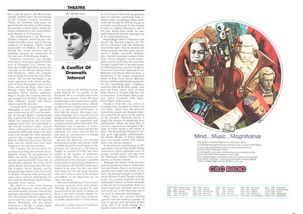 Article Preview: A Conflict Of Dramatic Interest, June 1973 | Maclean's