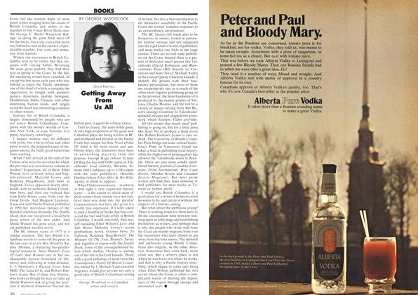 Article Preview: Getting Away From Us All, June 1973 | Maclean's