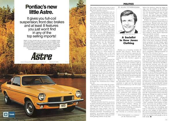 Article Preview: A Socialist In Dow Jones Clothing, June 1973 | Maclean's
