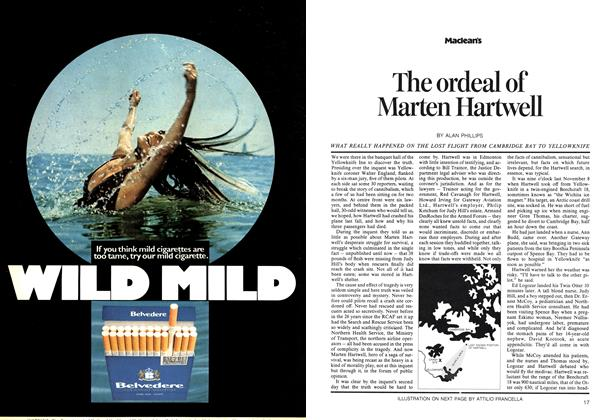 Article Preview: The ordeal of Marten Hartwell, July 1973 | Maclean's