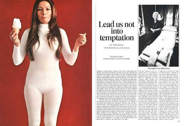 Article Preview: Lead us not into temptation, July 1973 | Maclean's