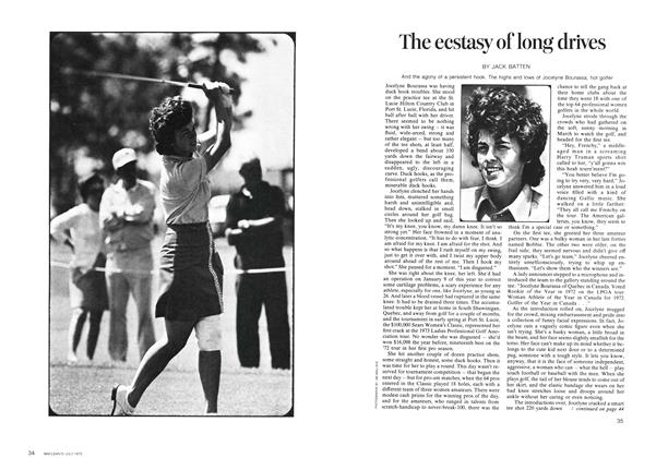 Article Preview: The ecstasy of long drives, July 1973 | Maclean's