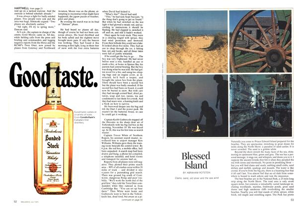 Article Preview: Blessed Island, July 1973 | Maclean's
