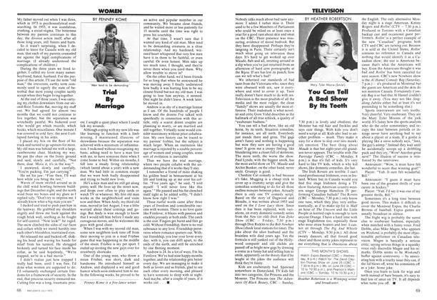 Article Preview: Trial By Marriage, July 1973 | Maclean's