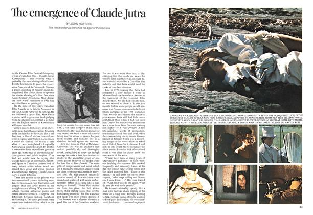 Article Preview: The emergence of Claude Jutra, August 1973 | Maclean's