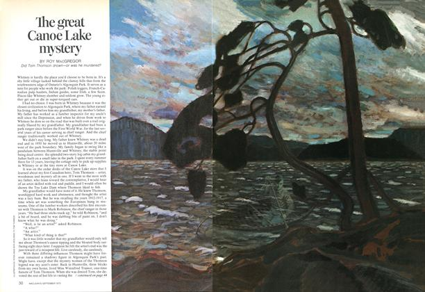 Article Preview: The great Canoe Lake mystery, September 1973 | Maclean's