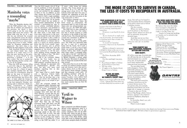 """Article Preview: Manitoba votes a resounding """"maybe"""", September 1973 