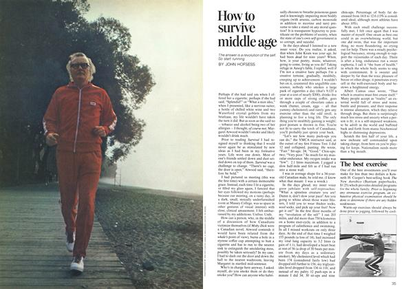 Article Preview: How to survive middle age, October 1973 | Maclean's