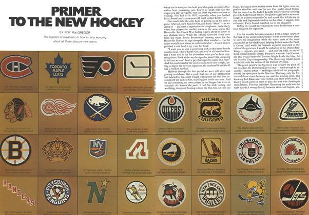 Article Preview: PRIMER TO THE NEW HOCKEY, November 1973 | Maclean's