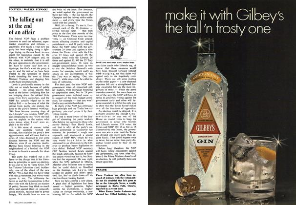 Article Preview: The falling out at the end of an affair, December 1973 | Maclean's