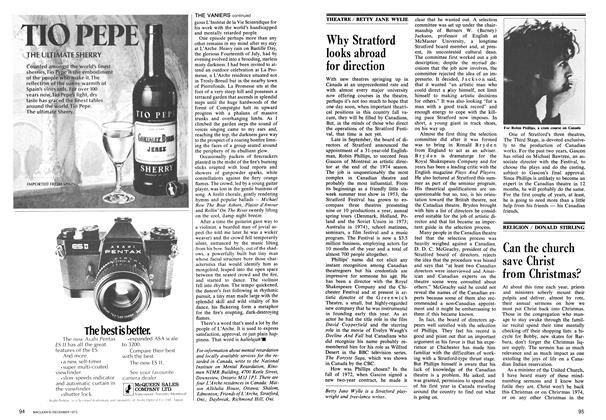 Article Preview: Why Stratford looks abroad for direction, December 1973 | Maclean's
