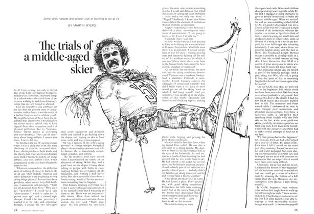 Article Preview: The trials of a middle-aged skier, January 1974 | Maclean's