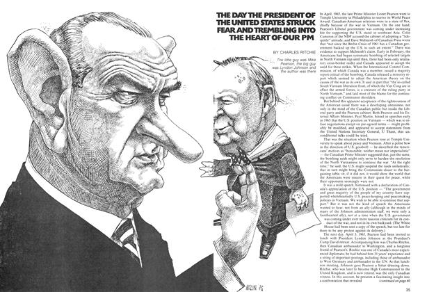 Article Preview: THE DAY THE PRESIDENT OF THE UNITED STATES STRUCK FEAR AND TREMBLING INTO THE HEART OF OUR PM, January 1974 | Maclean's