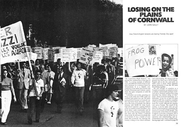 Article Preview: LOSING ON THE PLAINS OF CORNWALL, January 1974 | Maclean's