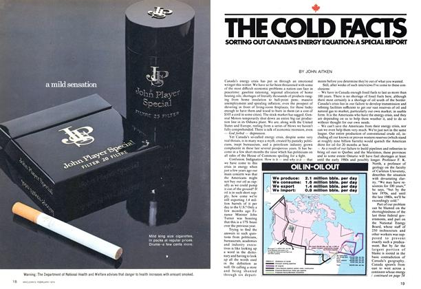 Article Preview: THE COLD FACIS, February 1974 | Maclean's