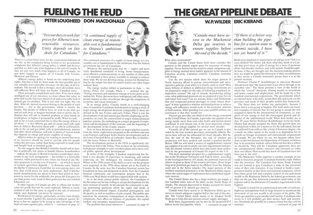 Article Preview: FUELING THE FEUD, February 1974 | Maclean's