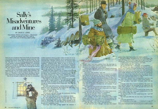 Article Preview: Sally's Misadventures and Mine, February 1974 | Maclean's
