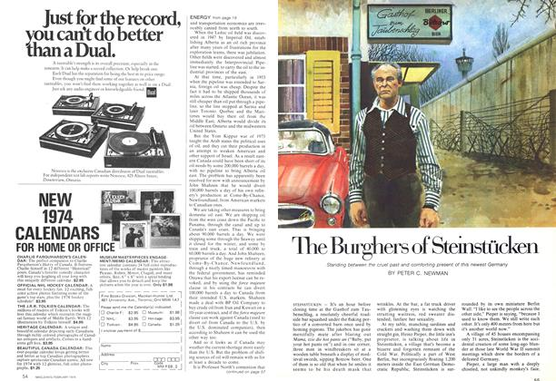 Article Preview: The Burghers of Steinstücken, February 1974 | Maclean's