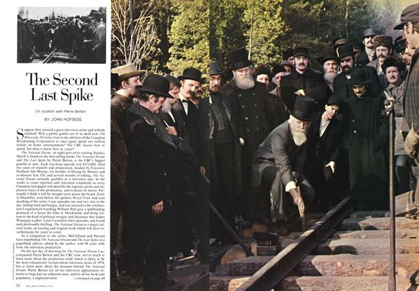 Article Preview: The Second Last Spike, March 1974 | Maclean's