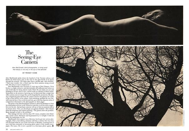 Article Preview: The Seeing-Eye Camera, March 1974   Maclean's