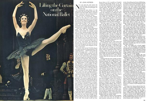 Article Preview: Lifting the Curtain on the National Ballet, April 1974 | Maclean's