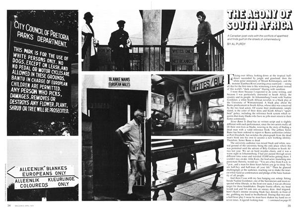 Article Preview: THE AGONY OF SOUTH AFRICA, April 1974 | Maclean's
