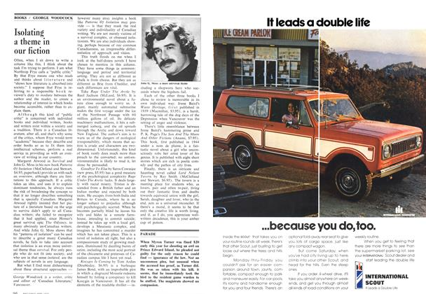 Article Preview: Isolating a theme in our fiction, April 1974 | Maclean's