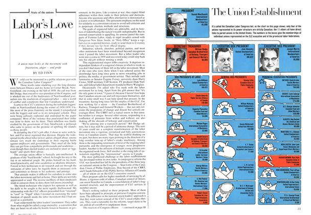 Article Preview: Labor's Love Lost, May 1974 | Maclean's