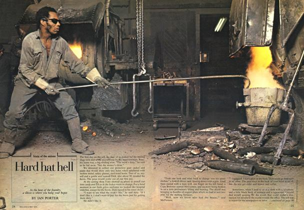 Article Preview: Hard hat hell, May 1974 | Maclean's