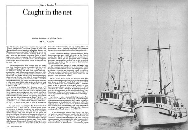 Article Preview: Caught in the net, May 1974 | Maclean's