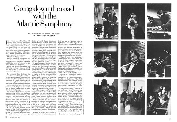 Article Preview: Going down the road with the Atlantic Symphony, May 1974 | Maclean's
