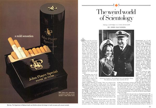 Article Preview: The weird world of Scientology, June 1974 | Maclean's