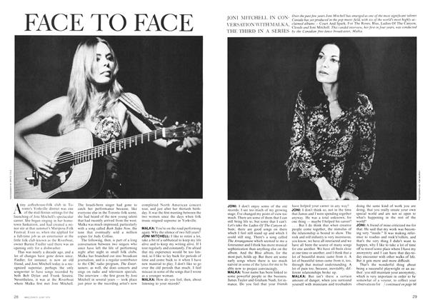 Article Preview: FACE TO FACE, June 1974 | Maclean's