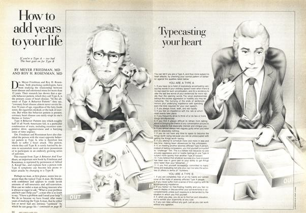Article Preview: How to add years to your life, June 1974 | Maclean's