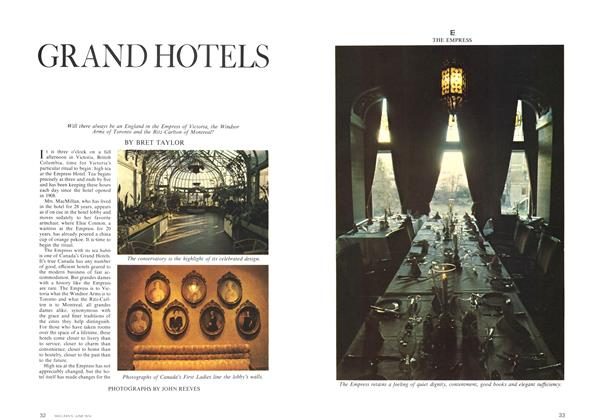 Article Preview: GRAND HOTELS, June 1974 | Maclean's