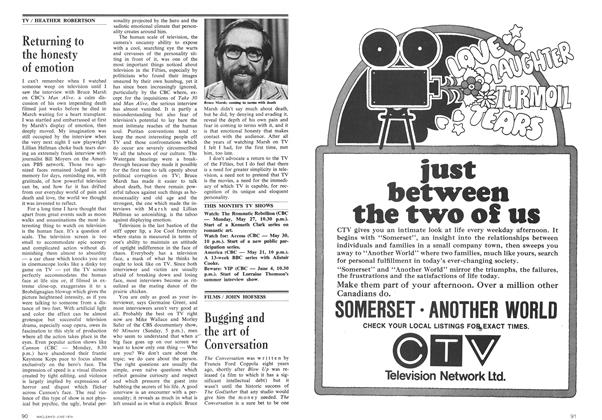 Article Preview: Bugging and the art of Conversation, June 1974 | Maclean's