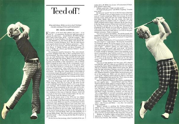 Article Preview: Teed off!, July 1974 | Maclean's