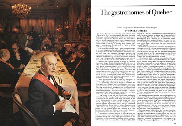 Article Preview: The gastronomes of Quebec, July 1974 | Maclean's