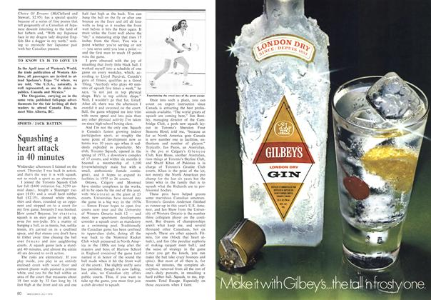 Article Preview: Squashing a heart attack in 40 minutes, July 1974 | Maclean's