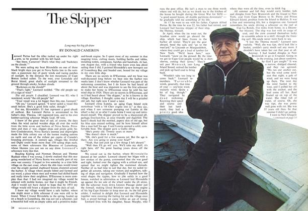 Article Preview: The Skipper, August 1974 | Maclean's