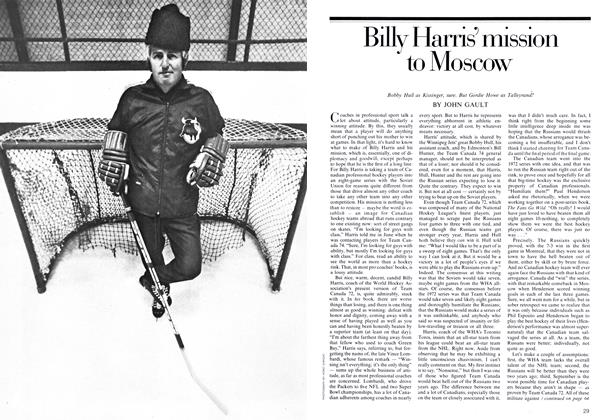 Article Preview: Billy Harris' mission to Moscow, September 1974 | Maclean's