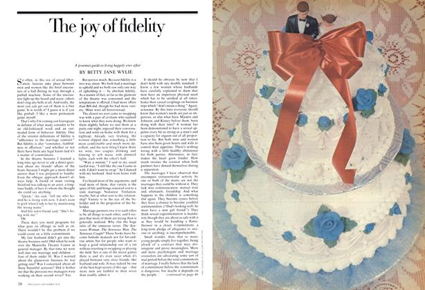 Article Preview: The joy of fidelity, September 1974 | Maclean's