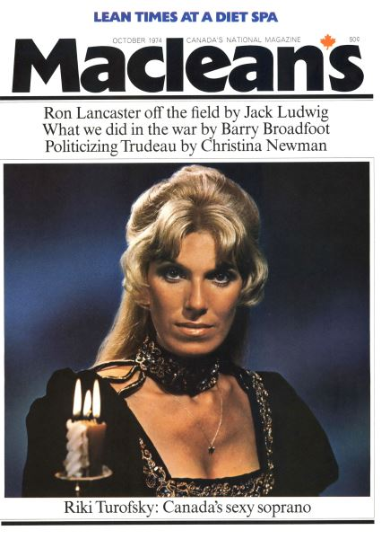 Issue: - October 1974   Maclean's