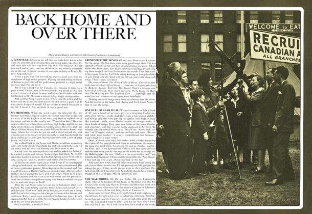 Article Preview: BACK HOME AND OVER THERE, October 1974 | Maclean's