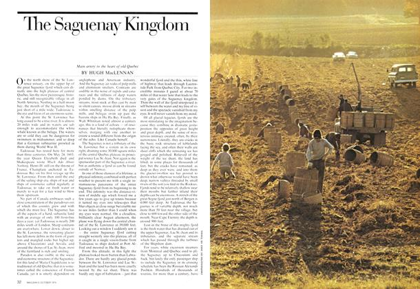 Article Preview: The Saguenay Kingdom, October 1974 | Maclean's