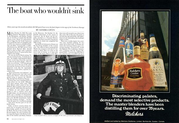 Article Preview: The boat who wouldn't sink, October 1974 | Maclean's
