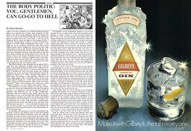 Article Preview: THE BODY POLITIC: YOU, GENTLEMEN, CAN GO-GO TO HELL, October 1974 | Maclean's
