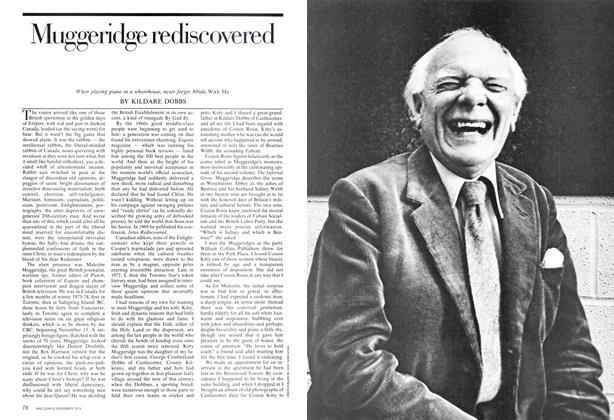 Article Preview: Muggeridge rediscovered, November 1974 | Maclean's
