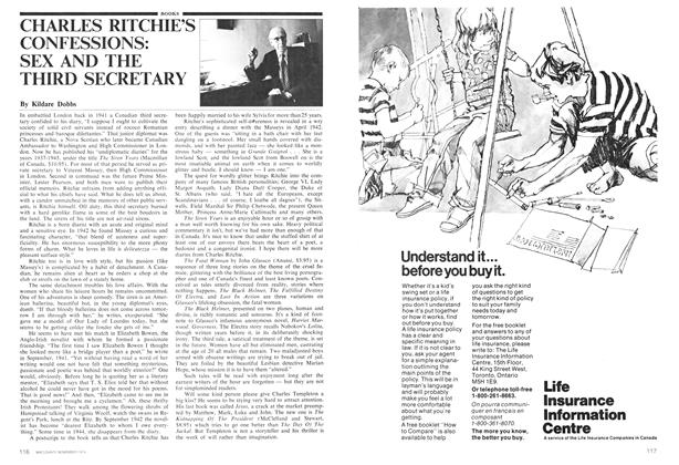Article Preview: CHARLES RITCHIE'S CONFESSIONS: SEX AND THE THIRD SECRETARY, November 1974 | Maclean's